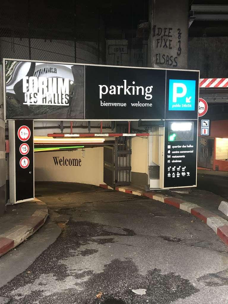 Paris - Châtelet - Forum des Halles - Parking réservable en ligne - Paris