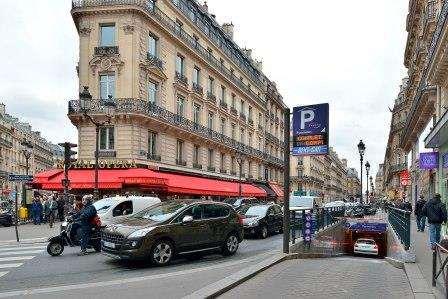 Parking Saemes Pyramides - Parking réservable en ligne - Paris