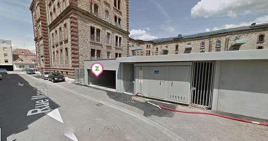 Mulhouse - Caserne Lefebvre - Marcel Maire - Parking réservable en ligne - Mulhouse