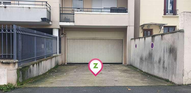 Bagnolet - Cimetière - Avenue Pasteur - Parking réservable en ligne - Bagnolet