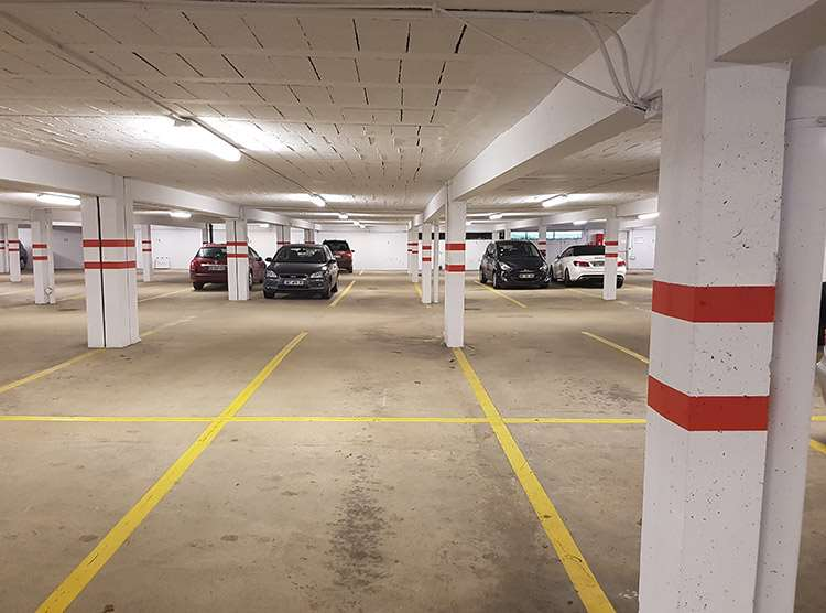Rennes - Hautes Ourmes - Poterie - Parking réservable en ligne - Rennes
