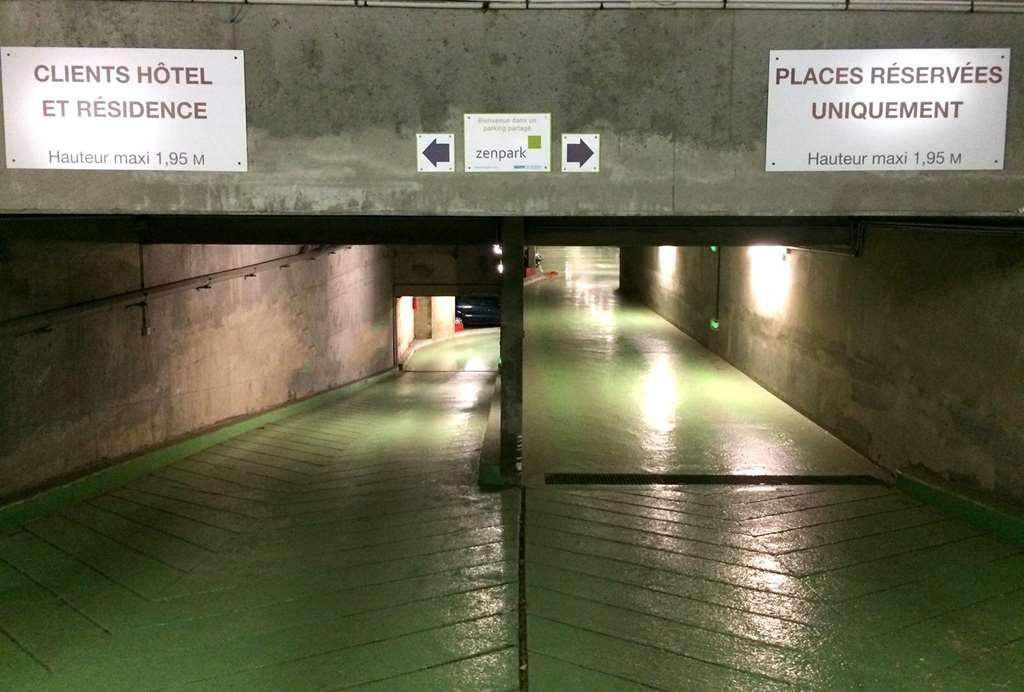 Boulogne - Porte de Saint-Cloud - Mercure - Parking réservable en ligne - Boulogne-Billancourt