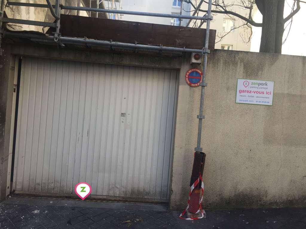 Paris - Hôpital Robert Debré - Télégraphe - Parking réservable en ligne - Paris