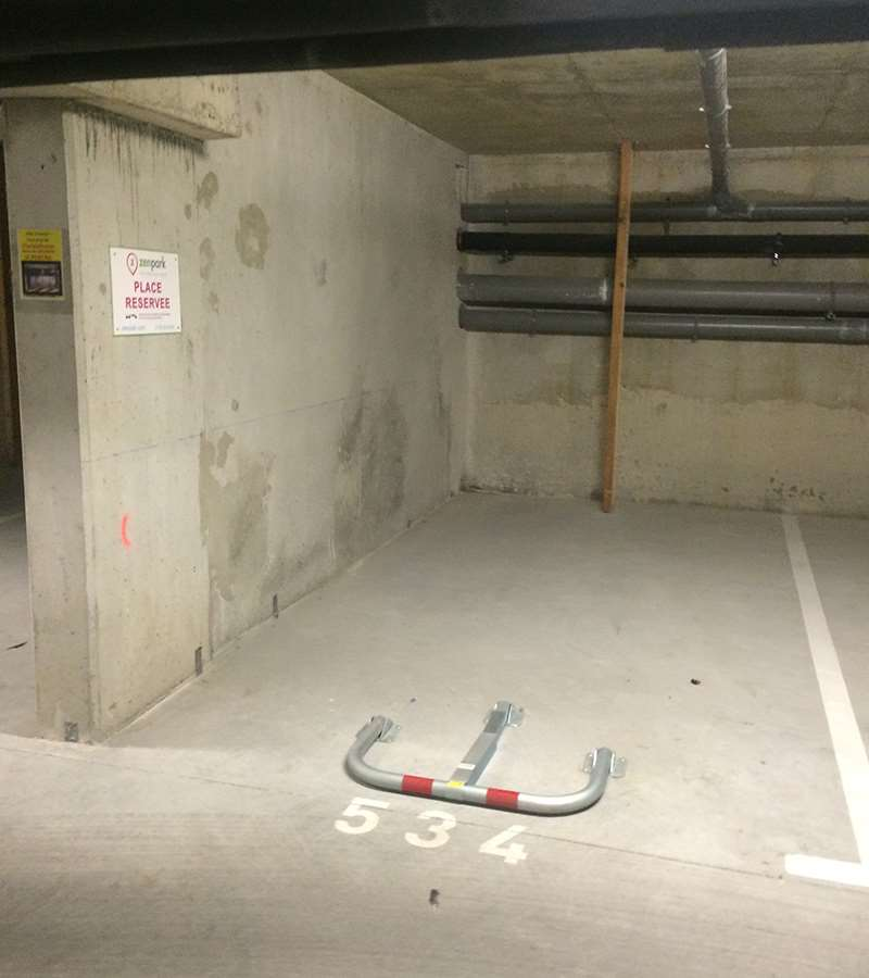 Nantes - Égalité - Bois de Hercé - Parking réservable en ligne - Nantes