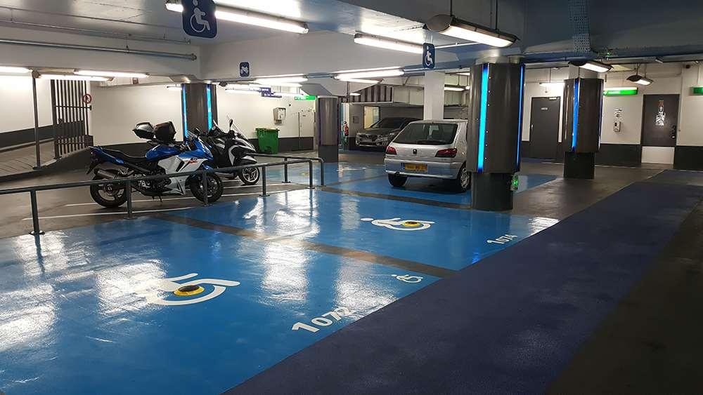 Parking Saemes Anvers Sacré Cœur - Parking réservable en ligne - Paris