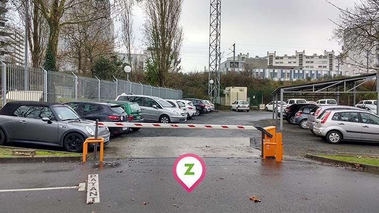 Nantes - île Beaulieu - Mangin - Parking réservable en ligne - Nantes