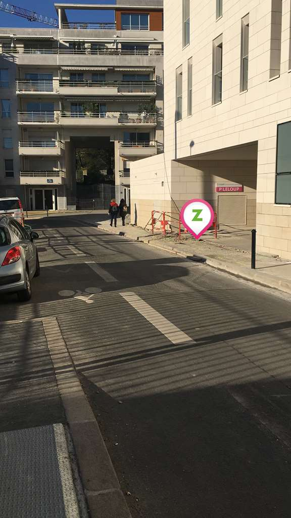 Nantes - Nantes Centre - Leloup - Parking réservable en ligne - Nantes