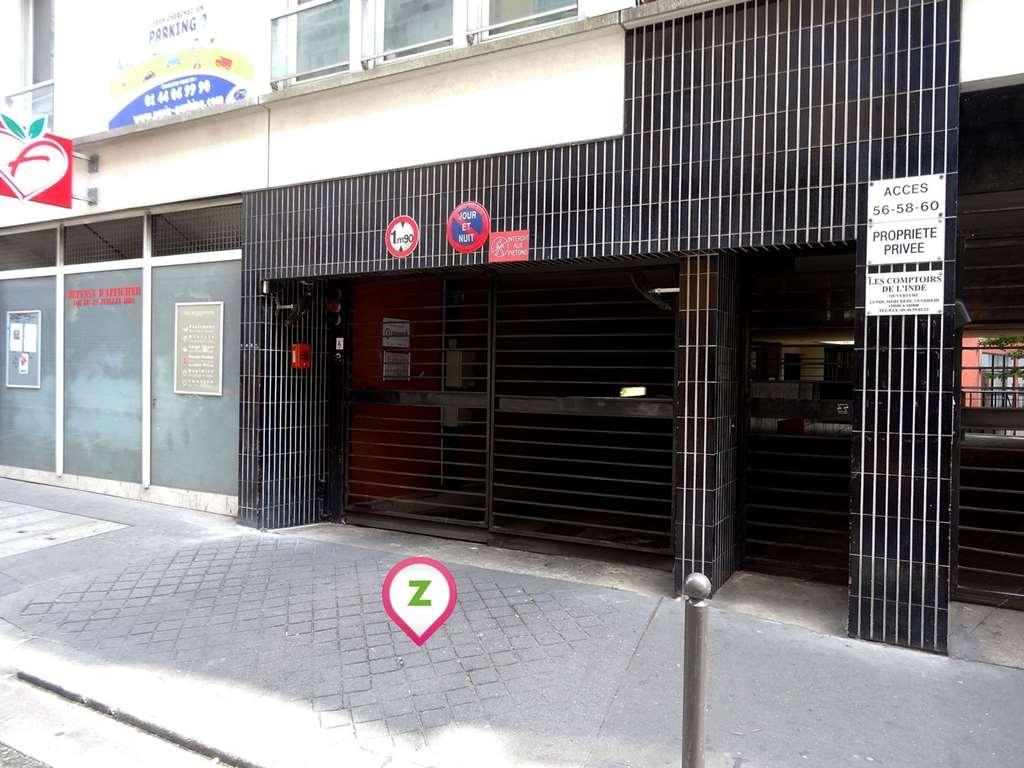 Paris - Alexandre Dumas - Vignoles - Parking réservable en ligne - Paris