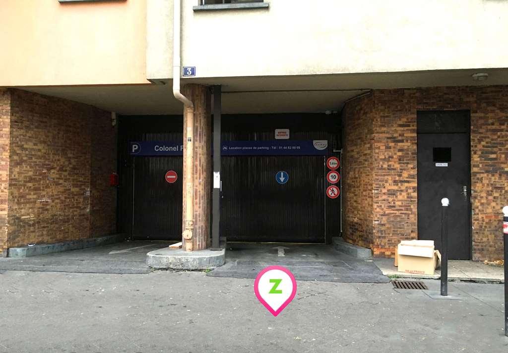 Paris - Colonel Fabien - SAEMES - Parking réservable en ligne - Paris